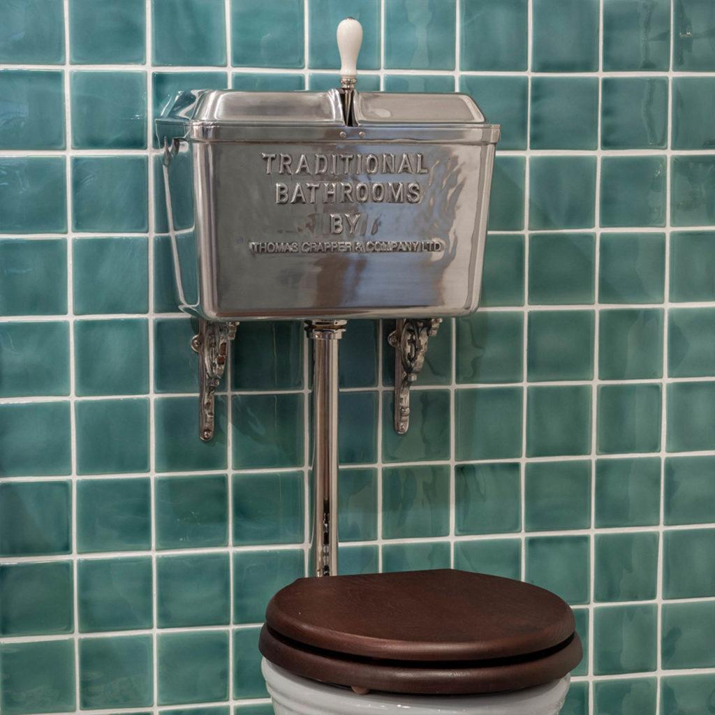 Retro Stil Badezimmer WC