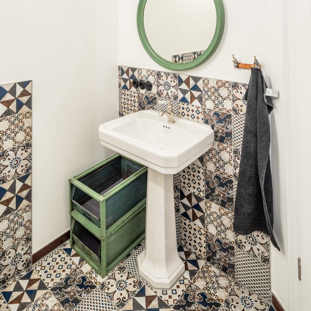 Retro Waschtisch nostalgisches WC