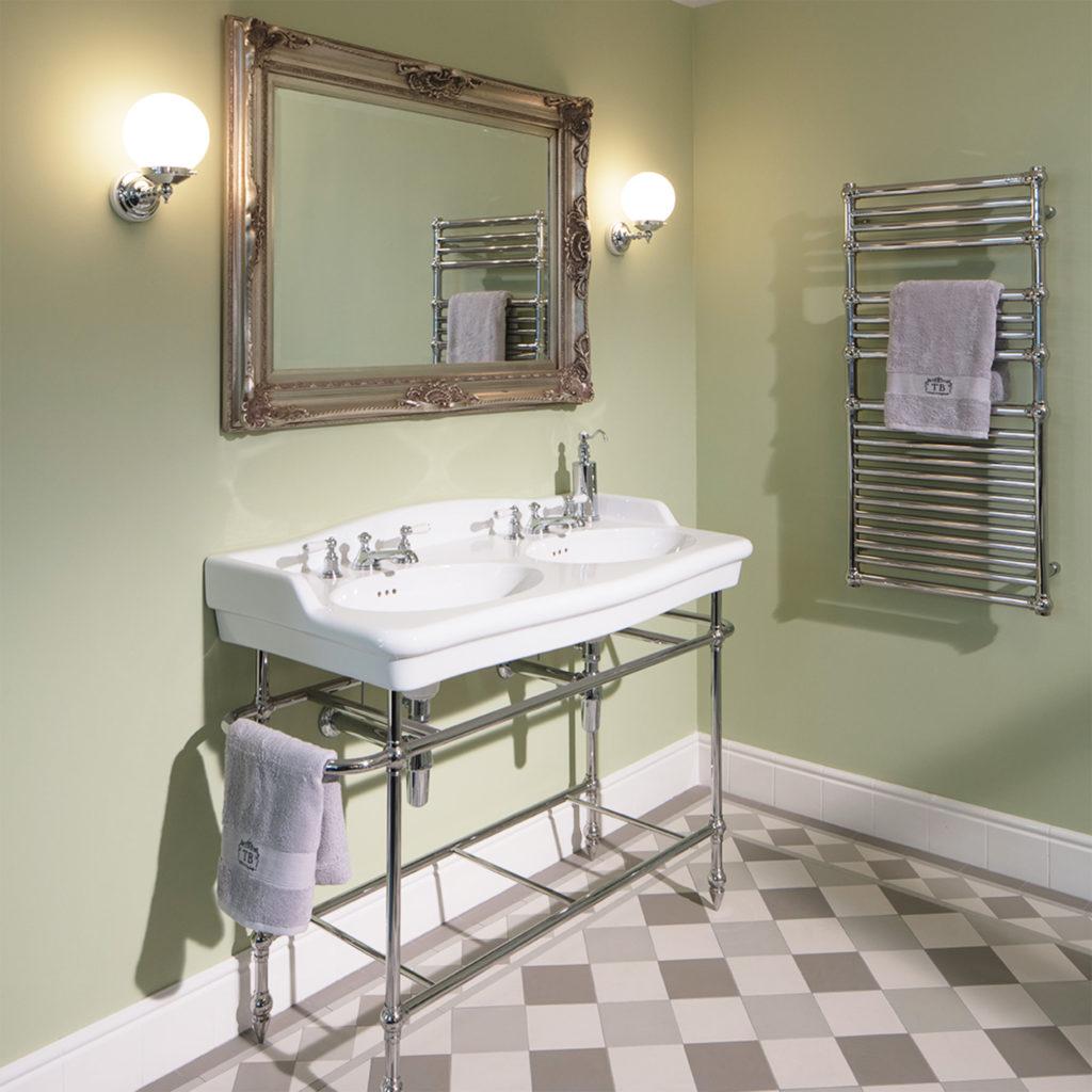 Retro Badezimmer