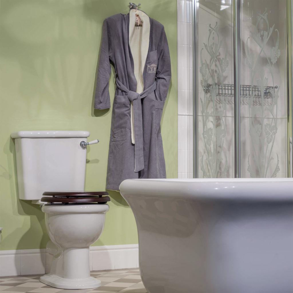 Retro Badezimmer WC