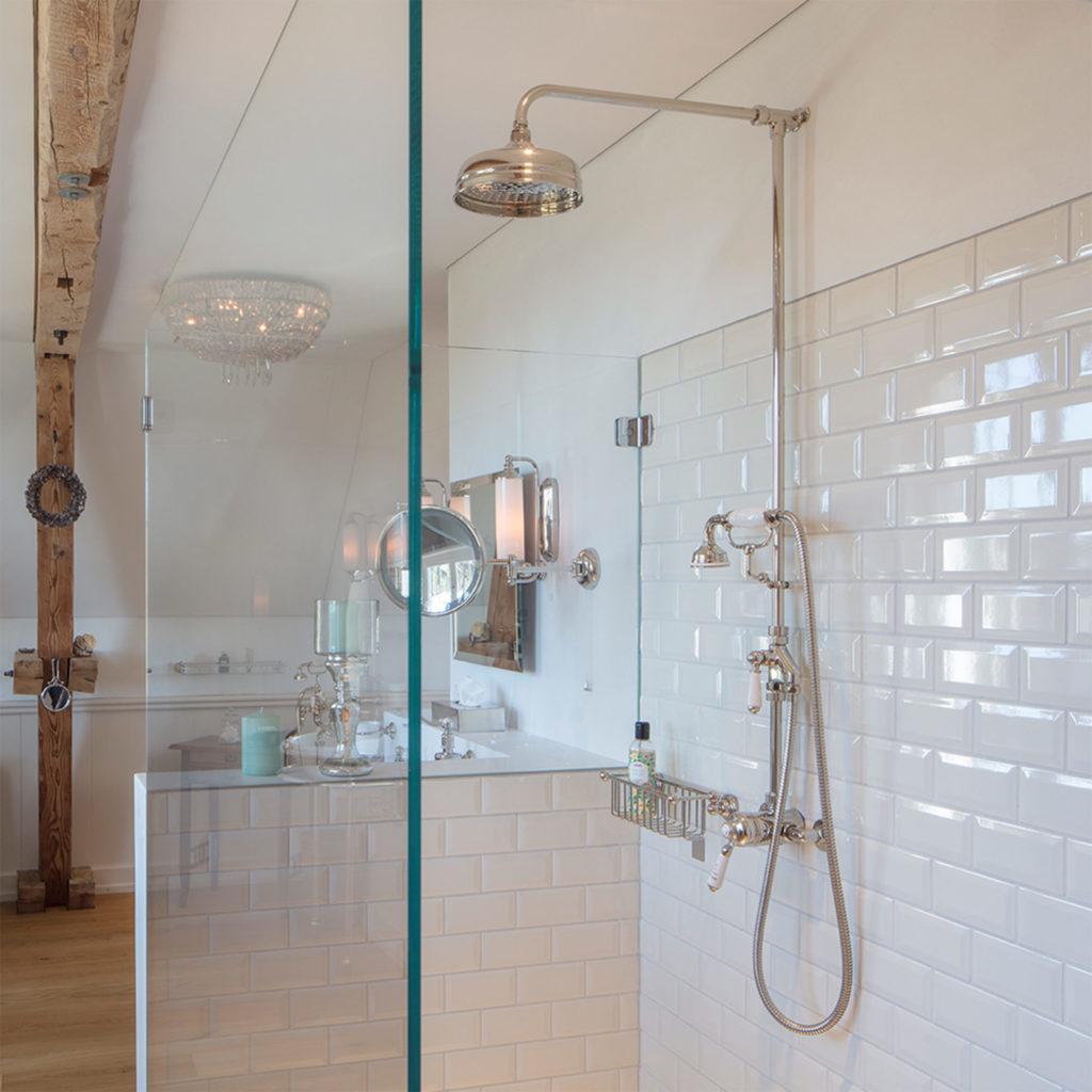 Retro Stil Badezimmer Vintage Duscharmatur