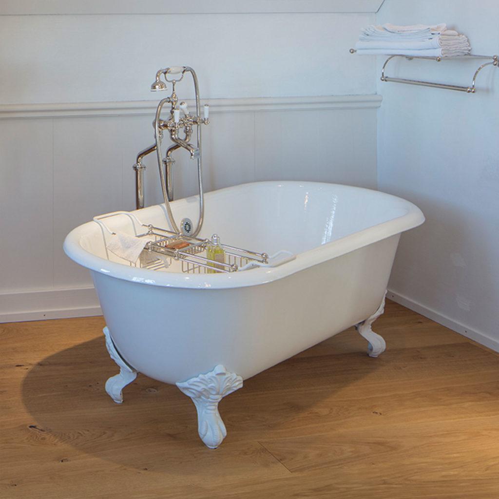 Retro Stil Badezimmer Freistehende Vintage Badewanne