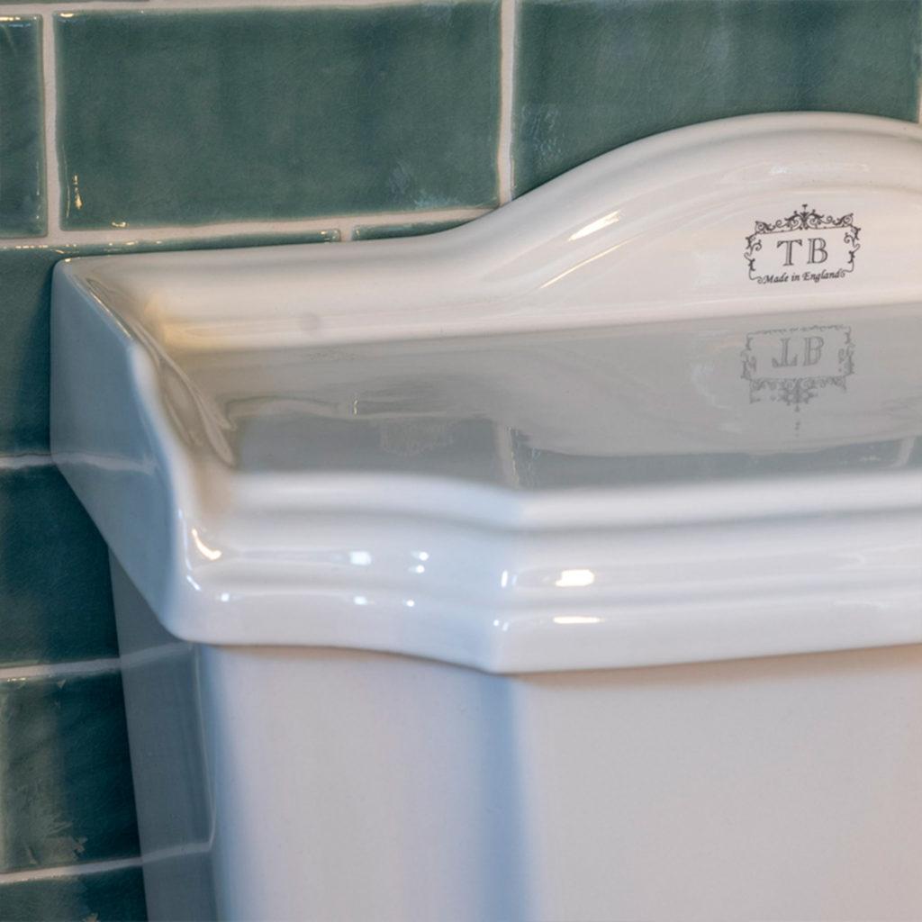 Retro WC im Nostalgie Stil