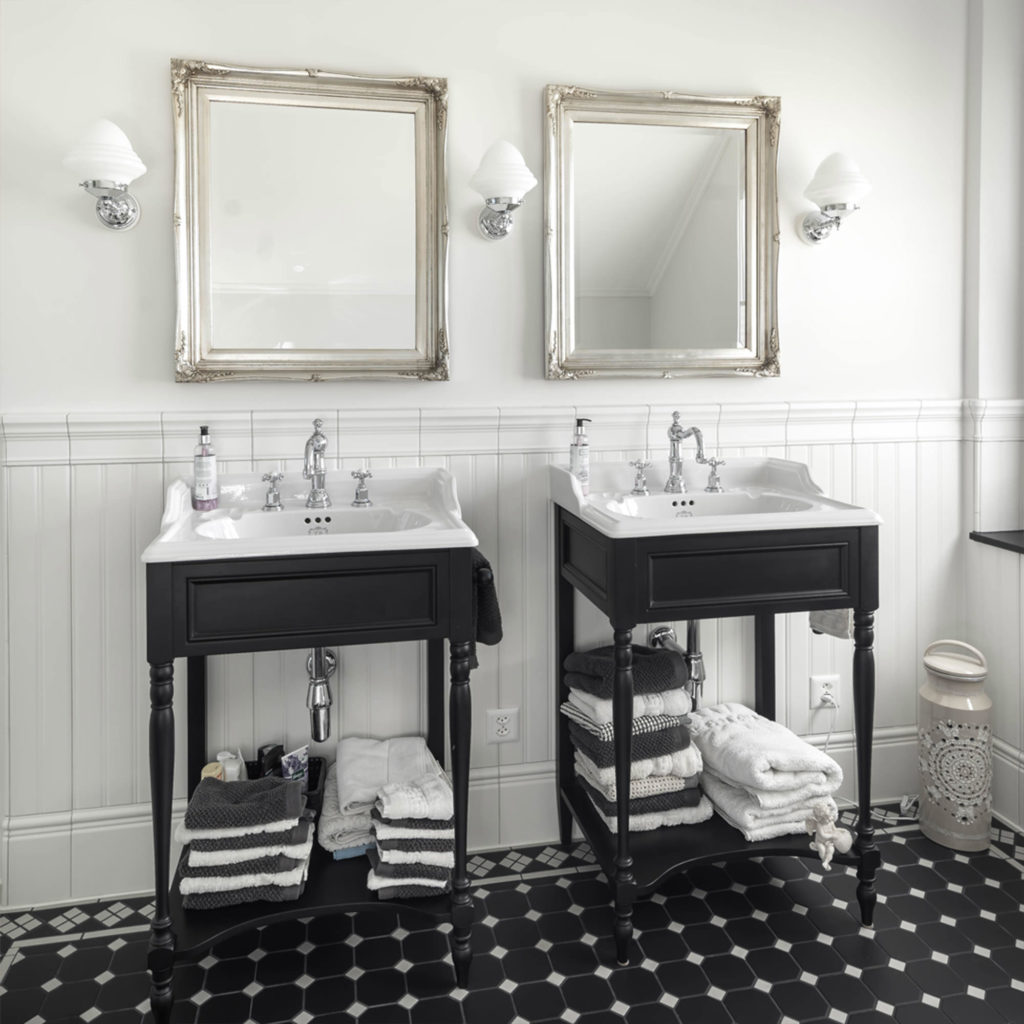 Traditionelles Badezimmer