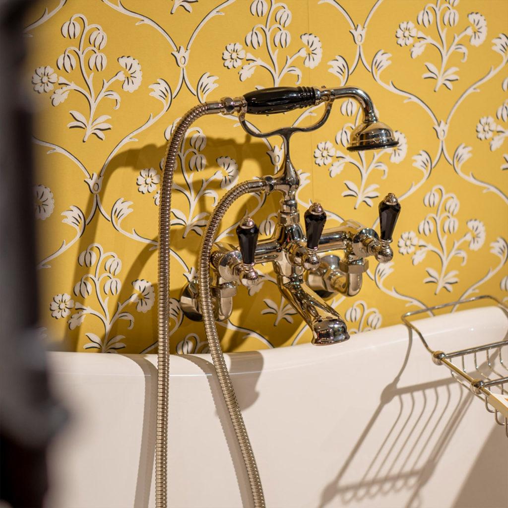 Vintage Badezimmer Badewannenarmatur