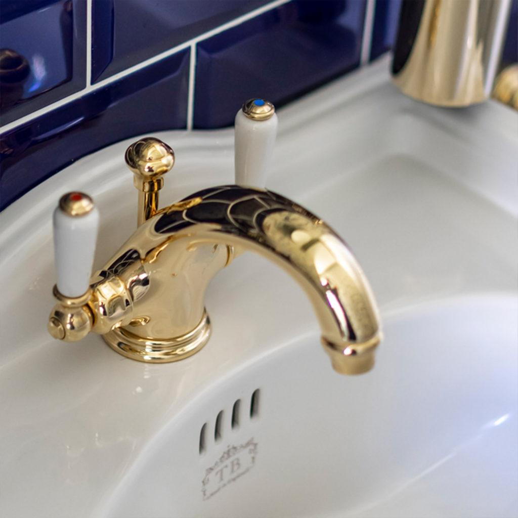 Vintage Gäste WC Waschtisch Mischbatterie
