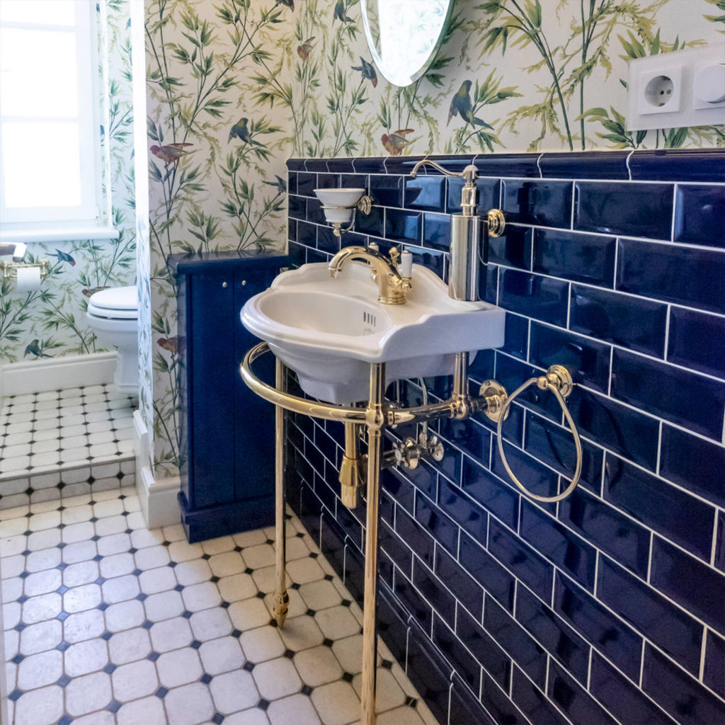 Vintage Gäste WC Waschbecken