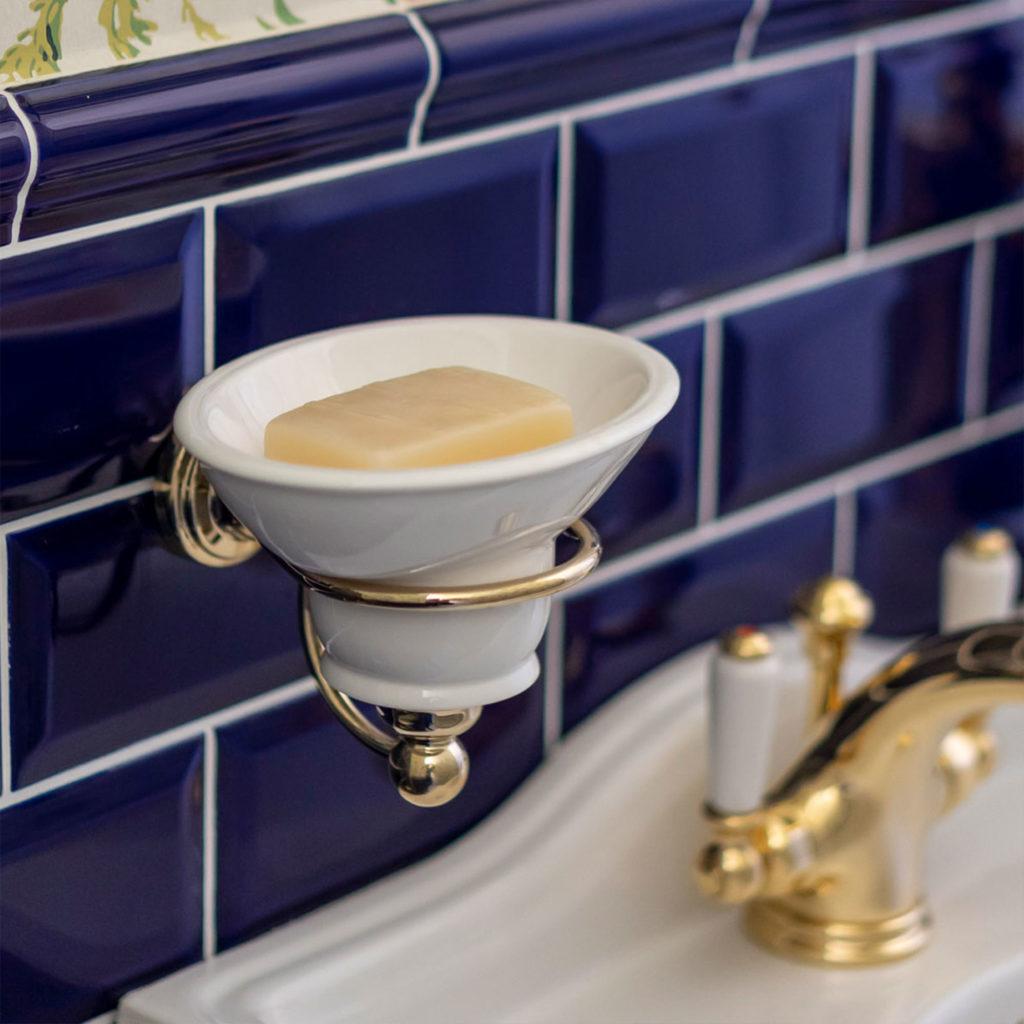 Vintage Gäste WC Seifenschale