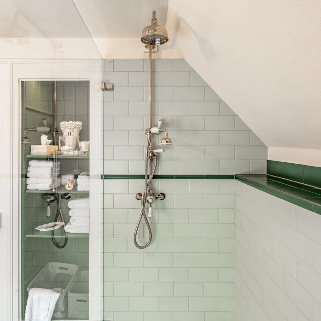 Dusche Bad im Vintage Style