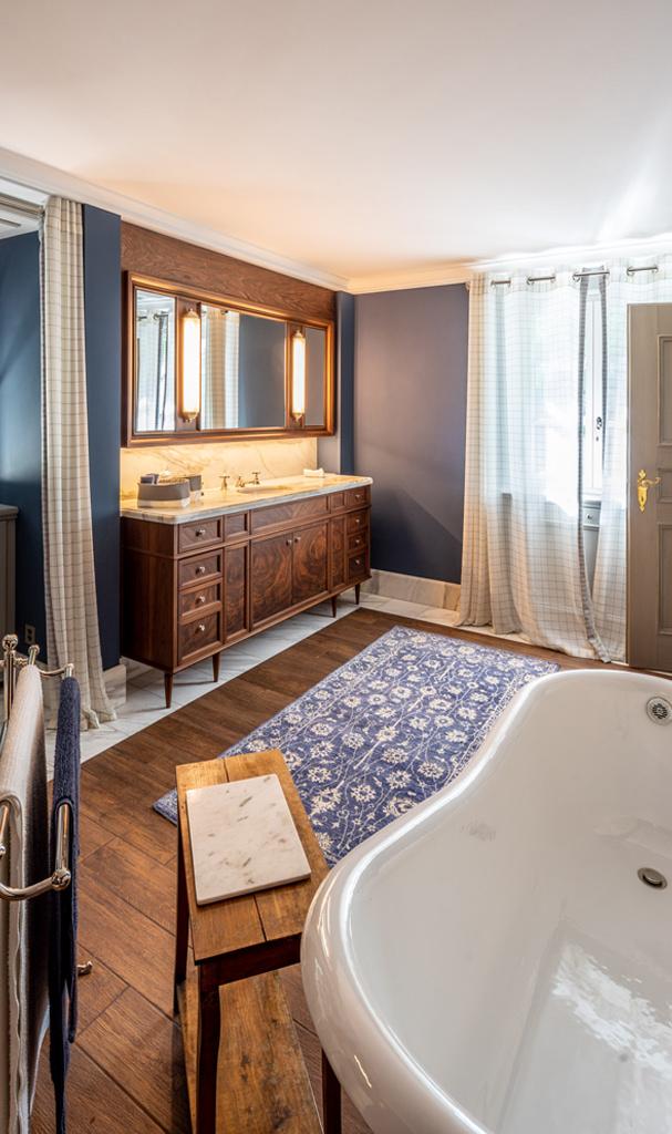 Exklusives Vintage Badezimmer