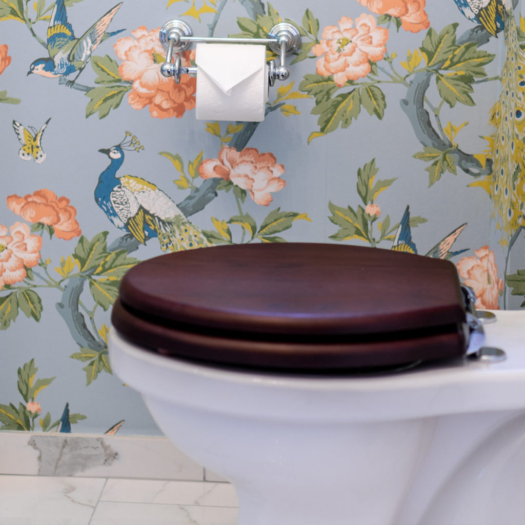 Nostalgie Gäste WC Retro Toilette