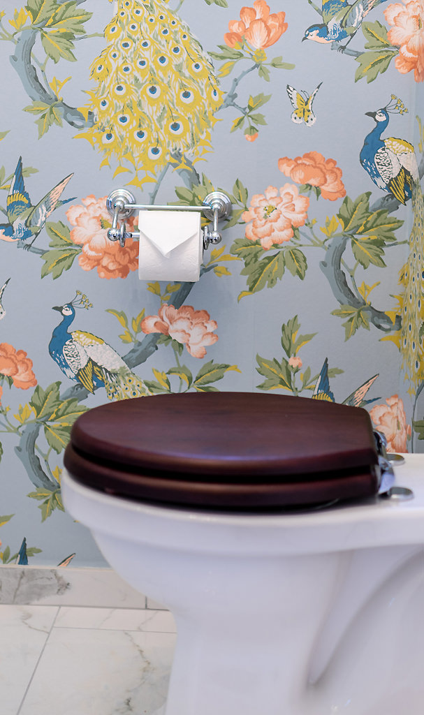 Nostalgie Gäste WC