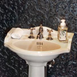 Vintage Stil WC Nostalgie Waschtisch